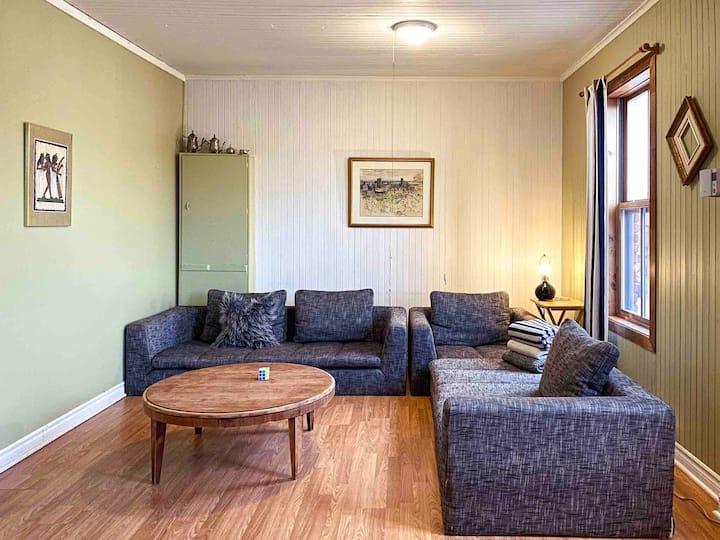 Appart hyper cozy, spacieux au ❤️ des Laurentides