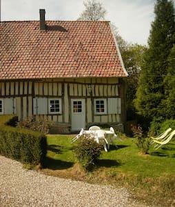 Maison normande pour 2 pers - Gueures - Huis