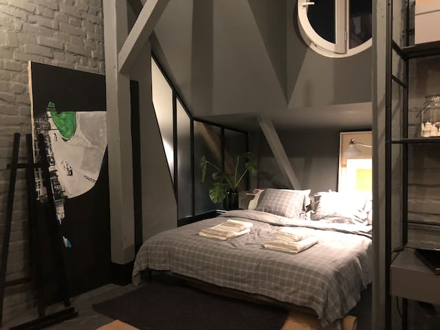 Mystictone  - Loft rooms in the heart of Warsaw