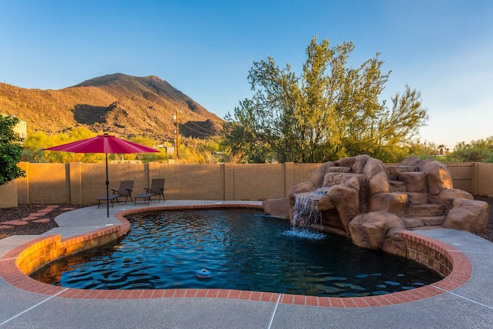 *SANITIZED* Saguaro Sunset @ Cave Creek Mountain View Home/ PVT Pool/ Jacuzzi