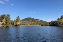 View of Kipp Mountain -  a great hike for all ages