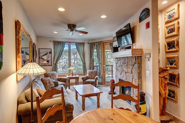 Stunning Mountain Views! Located downtown Breckenridge! Beautifully decorated! - Park Avenue Lofts 208
