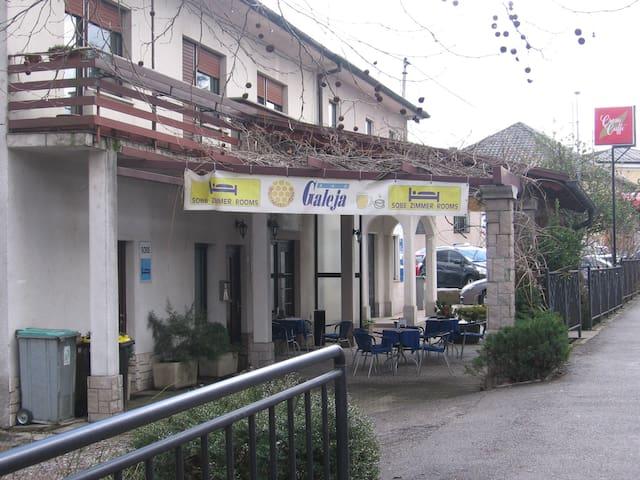 Hiša v centru mesta Ilirska Bistrica