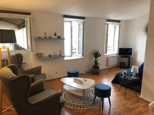 T2 très calme - Vieux Port / St-Nicolas / Coeur LR