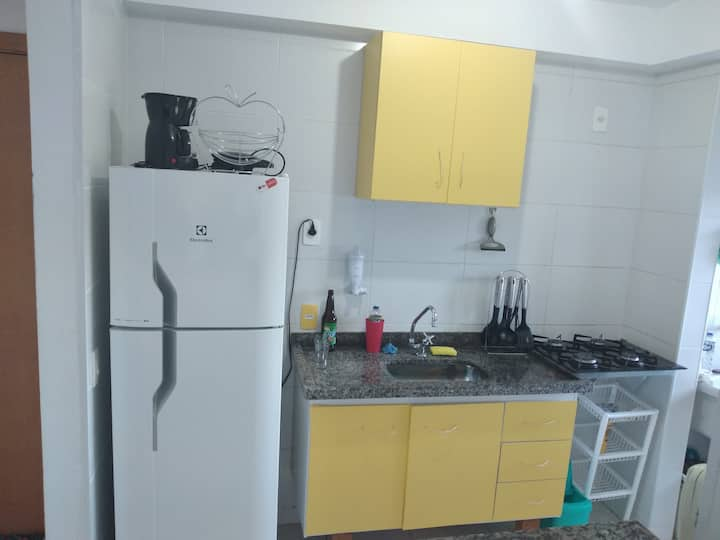 Apartamento e home office - 750m da UFSCAR.