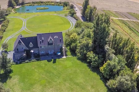 100 acre Estate on SF Bay Delta working farm - Walnut Grove - House