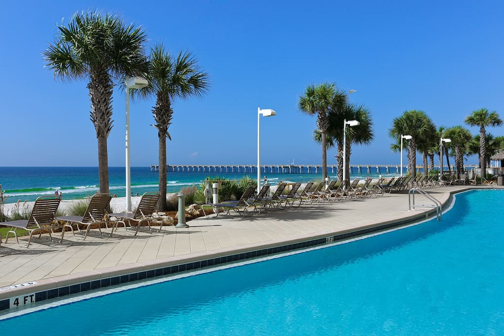 Beachfront 3 Bedroom Condo 30 Off Wohnungen Zur Miete In Panama City Beach Florida