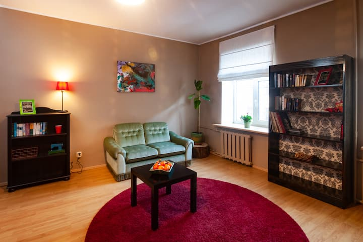 Bright & Cozy 3 Room Riga Center Apartment
