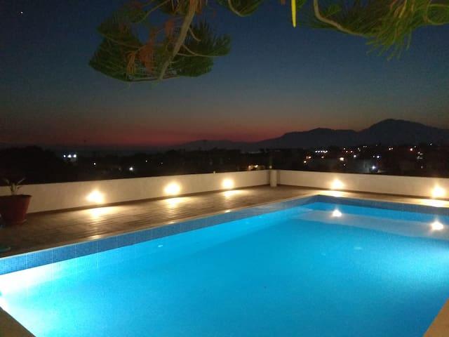 Houmeli Skoinos Ground Floor Apt shared pool