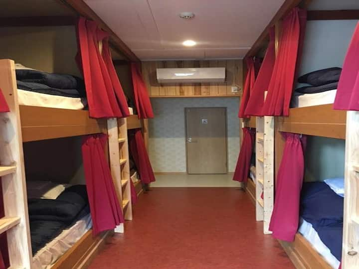 Single Bunk bed for 1 guest in Mixed Dorm of 14ppl