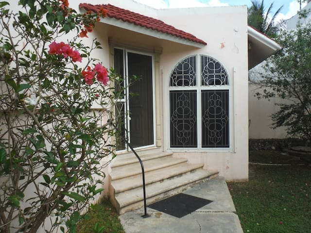 Home,  Island retreat. ground floor,Snorkel gear - San Miguel de Cozumel - House
