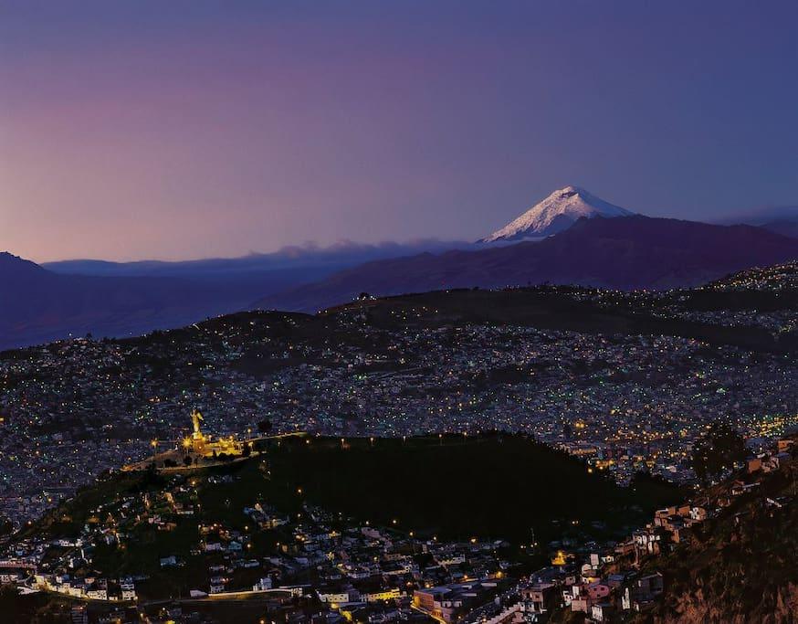 la ciudad de Quito, una  maravilla