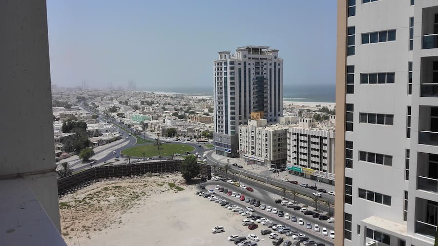 Private Room with Partial Sea view in Ajman, UAE