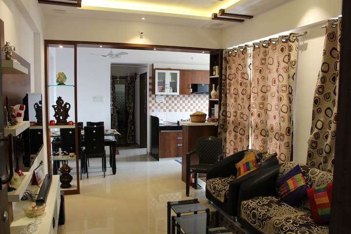 Home Stay-Entire Flat-2BHK