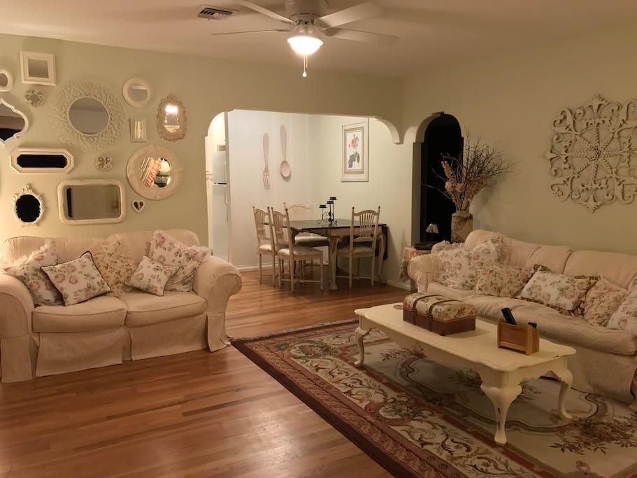 Welcome! Open Floor Plan Provides Plenty Of Room