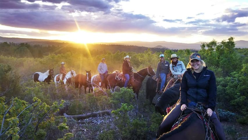 Horseback Riding on Zion Ponderosa Ranch by East Zion Adventures