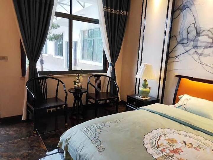 中式客房,环境优美