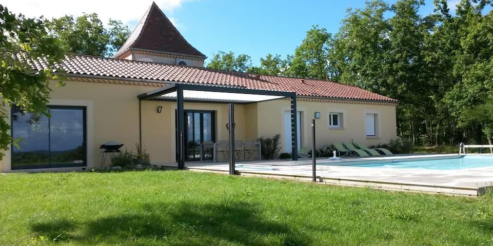 LES COTEAUX DE BRAULES - Gindou - Prázdninový dům