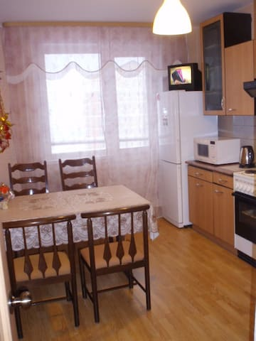 Квартира на сутки в Зеленограде - Зеленоград - Daire
