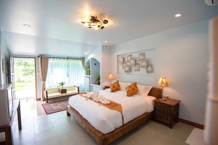 Boutique Room with Farm View