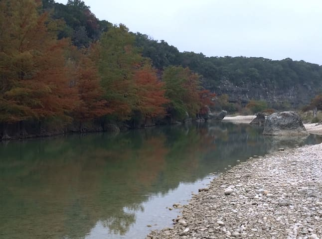 Fall color in the Texas Hill Country