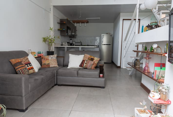 Comfortable loft at the perfect location
