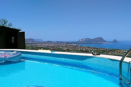 Detached Villa in a natural reserve with pool - Altavilla Milicia - House