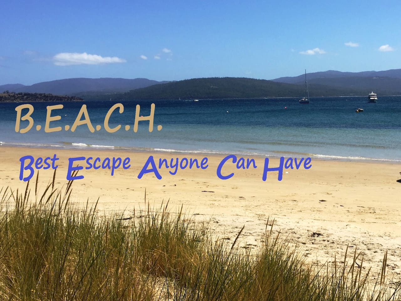 at Bruny Beachside...