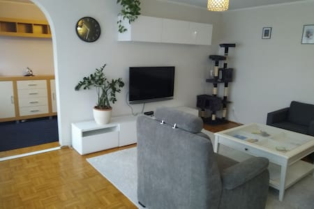 Big apartment 25 minutes from center of Warsaw