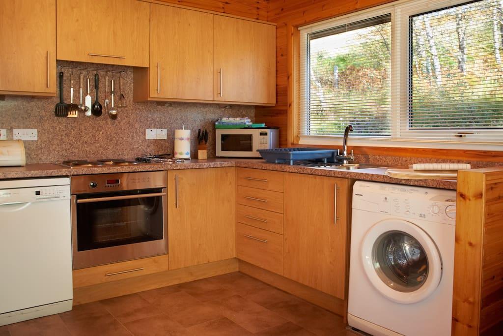 Lodge 2 Kitchen
