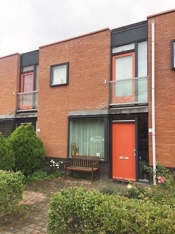 Modern House in Utrecht with free parking