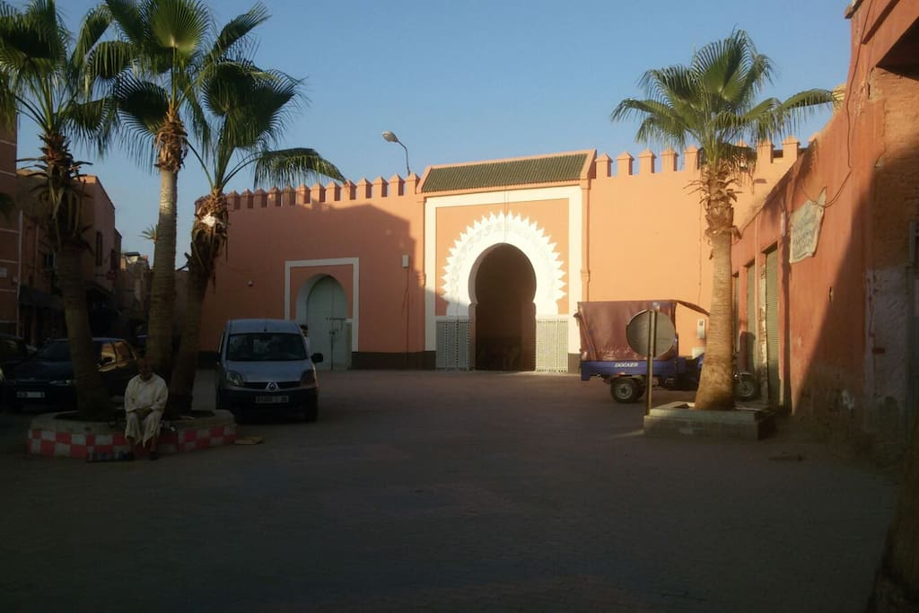 Quartier Douar Graoua Palais Moulay Driss