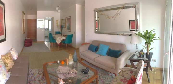 Charming apartment with balcony, nearby the sea
