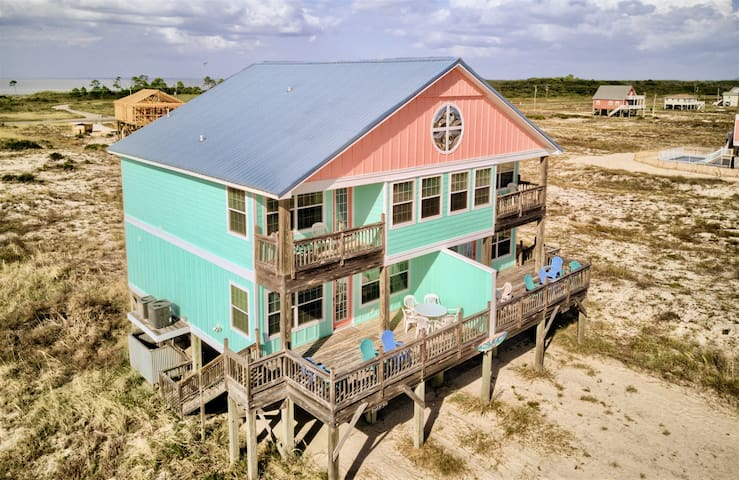 Beautiful Beach House on the Gulf: Seagull West