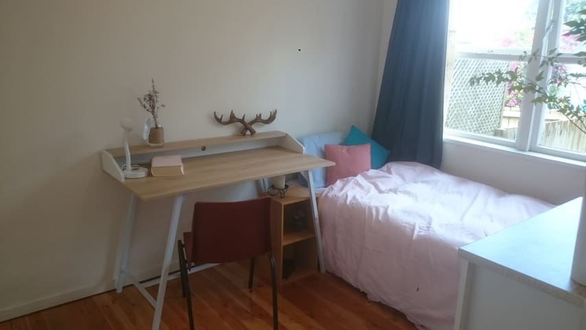 Sunny single bedroom in Mt Wellington
