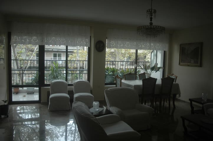 3 bedroom,145 m2 flat, close to the centre and sea - テッサロニキ - アパート
