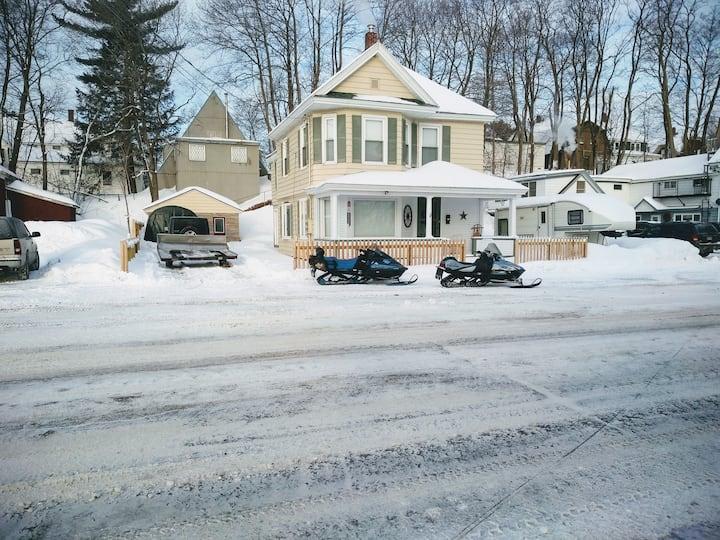 Millinocket Apartment Close to Snowmobiling Trails