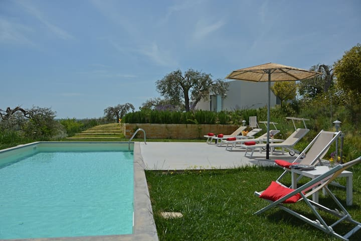 Country House Il Cavaliere -Seaview -Private Pool