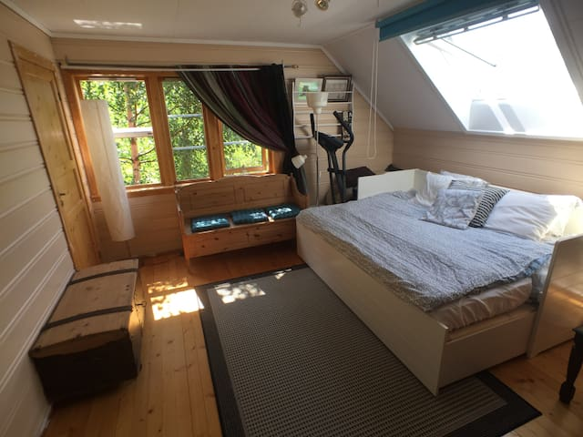 Nice room by the Hardangerfjord, near Trolltunga- - Lofthus - Huis