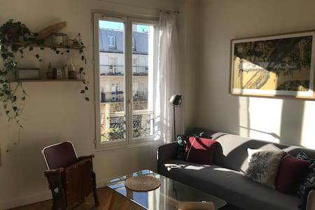 Charmant appartement parisien batignolles 40m²