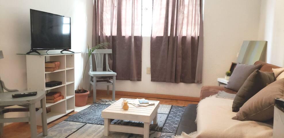 Mini Suite en el Corazon de la Colonia Roma, CDMX.