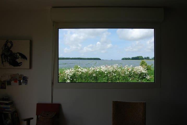Chambre double - Maison bois, village au calme - Houquetot - Pis