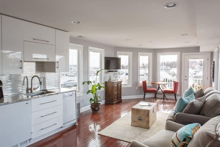 Cozy Water View Retreat in Eastport - Annapolis - Apartamento