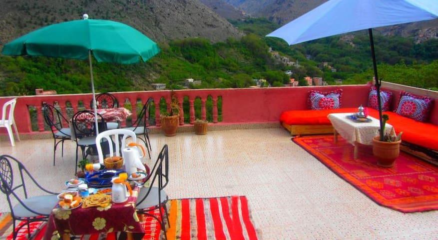 Chez les berberes - Imlil