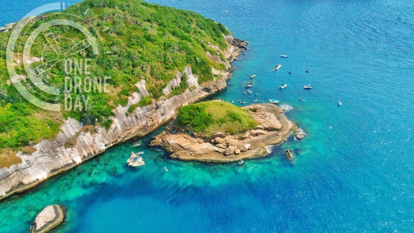 Desfrute as maravilhosas Ilhas Tijuca e