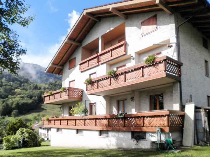 apt for 6+1 pers - dog welcome in Ledro R95206