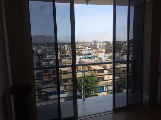 Apartamento con vista panorámica