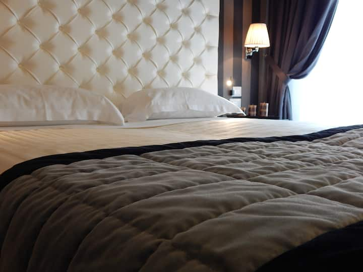 Boutique Hotel double/twin room in Ferrara