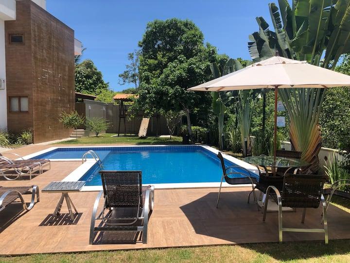 Casa Bela-Arraial d'Ajuda-200m Praia Araçaipe-nova