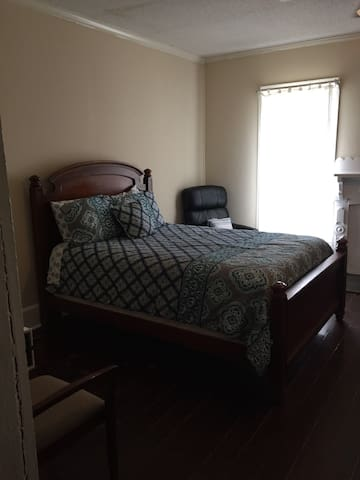 Visiting nurses-Large bedroom in historic home-1